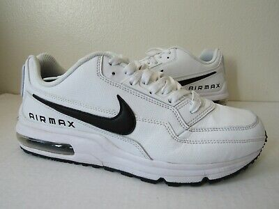 best sneakers c70d6 b261d Nike Air Max LTD 3 White Black 687977 107 Mens Running Shoes Size 8.5