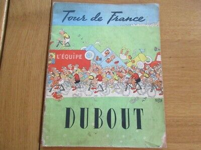 Le Tour De France 1950 Illustrations Dubout L' Equipe Cyclisme Velo