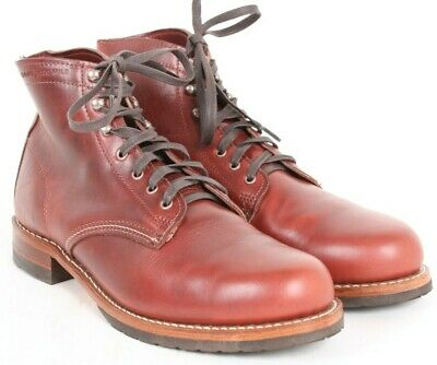 4f4c03e44fc WOLVERINE 1000 MILE Evans boot red leather Made in USA new in box ...
