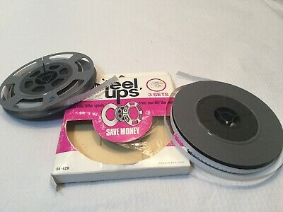 2 * 200ft 8mm FILM CINE REEL- INCLUDES FILM