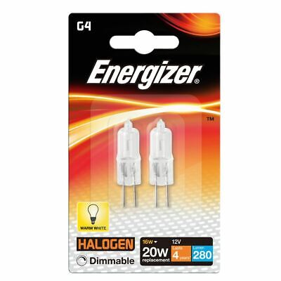 Energizer S4851 ECO 16W G4 Capsule Dimmable Halogen Light (Pack of 4)