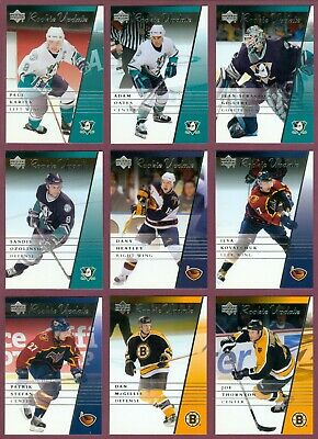 2002-03 Upper Deck Rookie Update Nhl Hockey Card 1 To 176 See List