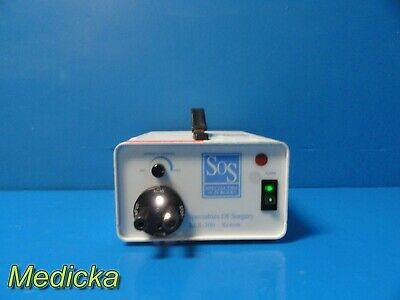 Specialities of Surgery (SOS) Xenon XLS-300 Light Source W/ Bulb ~ 17741