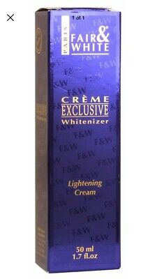 Fair and White Creme Exclusive Whitenizer - Lightening Cream 50ml 1 Pack -NIB