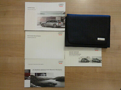 Audi S4 Avant Owners Handbook/Manual and Wallet 08-12