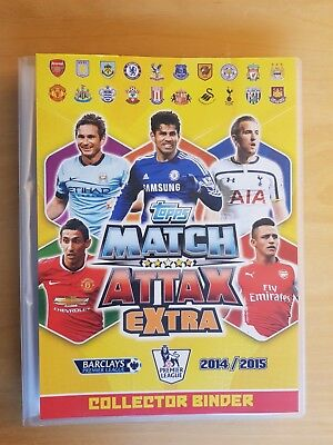 TOPPS Premier League 2014/15 Match Attax EXTRA. Complet all 201 cards + 4 LE