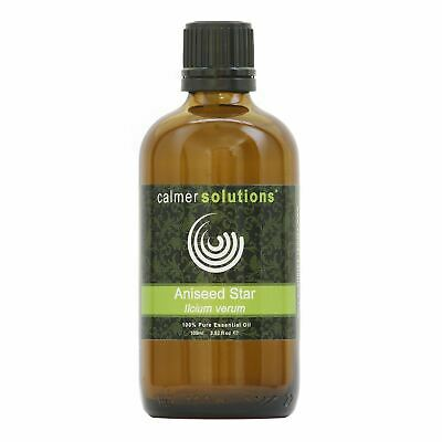 Aniseed 100ml 100% Pure Natural Essential Oil for Aromatherapy and Diffusers