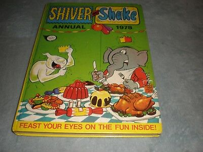 VINTAGE 1978 SHIVER and SHAKE ANNUAL: UNCLIPPED NO INSCRIPTIONS