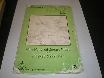 Barnett's 100 Series One Hundred Square Miles Of Indexed Street Plans Bucks
