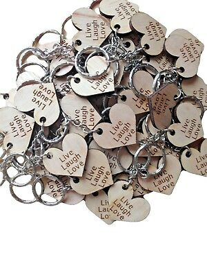 50 Wedding Guest Favour Gift, Table Confetti, Personalised Keyring Gift, Party