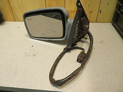 REPLACEMENT-MIRROR-GLASS+ADHESIVE~84-92 LINCOLN Mark VII POWER LEFT DRIVER SIDE