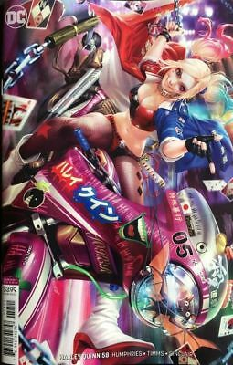 Harley Quinn #58 Derrick Chew Variant Cover Jan 2019 Sold Out Dc Comic Book 1