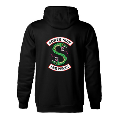 DAIKEN Unisex Serpents Hoodie for Men Women Southside Pullover Hooded Sweatshirt
