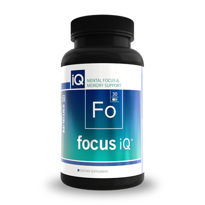 FOCUS IQ- Brain and Memory Support to Increase Mental Focus and Concentration. …
