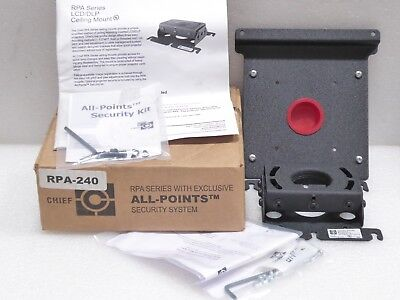 Chief Rpa237 Projector Ceiling Mount Lcd/Dlp 50# All Points Security System New