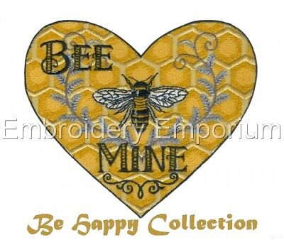 Bee Happy Collection - Machine Embroidery Designs On Cd Or Usb