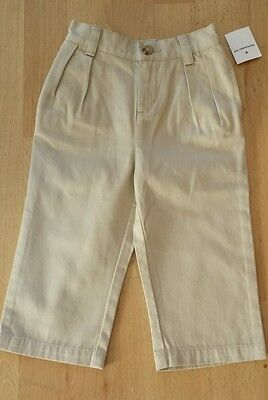 Ralph Lauren Boy SAND Chino trousers Size 2T 2 Years NWT PANT 24 months beige