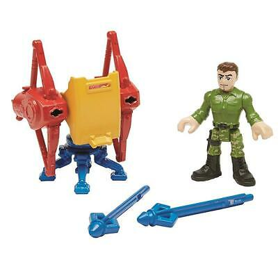 NEW Imaginext Wonder Woman Steve Trevor & Island Defense Fisher-Price Figures