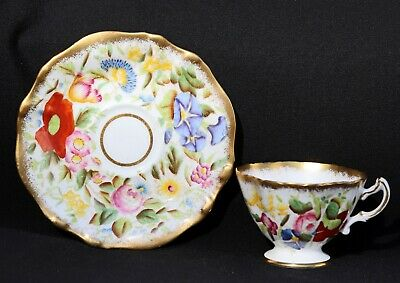Hammersley & Co Bone China Demitasse Cup and Hammersley Saucer