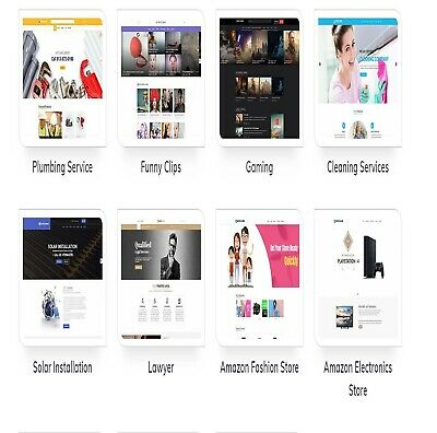 Wordpress themes  modern style  and up to date ecommerce ready