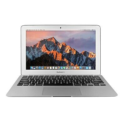 "Apple MacBook Air 11"" Laptop (1.6 GHz, 4GB/128GB) Webcam, Bluetooth, Lightweight"