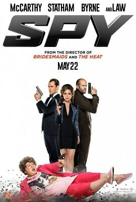 Spy 2-Sided Movie Poster 27x40 Teaser