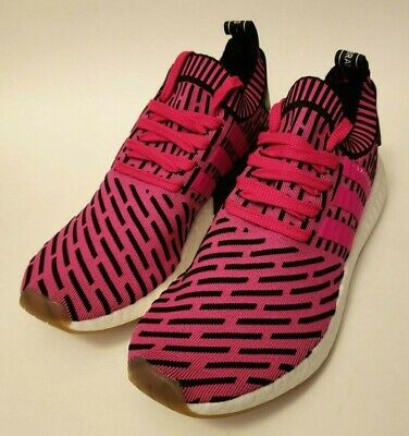 2a28bcd6f42ed NEW! ADIDAS NMD R2 Primeknit Japan Shock Pink Size 7.5 BY9697 ...