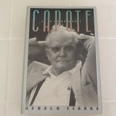 """Truman Capote Bio Famous Writer  """"In True Blood"""" Tennessee Willaims Monroe HC/DJ"""