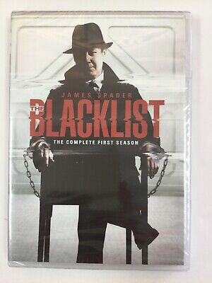 The Blacklist: The Complete First Season, DVD, Brand New Sealed!!!