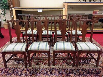 Vintage Lexington Cherry Dining Chairs - Eight Available - Delivery Available!