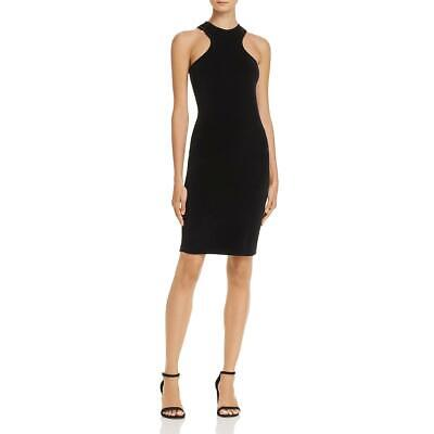 5c8470e98 T by Alexander Wang Womens Black Velour Racerback Cocktail Dress XS BHFO  6076