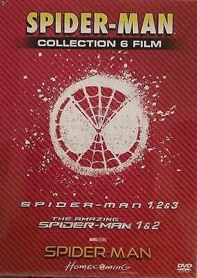 SPIDER-MAN collection 6 film cofanetto DVD