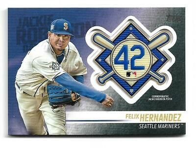 7bbbcd9d2 SEATTLE MARINERS JACKIE Robinson Day MLB Majestic Cool Base Jersey ...
