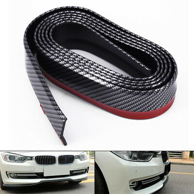 Bumper New Universal Splitter Front Fiber For Car Chin Carbon Lip Spoiler Cover