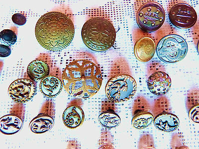 Victorian Buttons Vintage Pin Cushion Vintage Buttons Group Sewing Lot