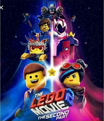 The Lego Movie 2: The Second Part (DVD,2018) Preorder Releases Ships 5/7/19