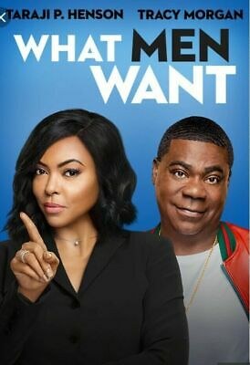 What Men Want (DVD,2018) Preorder Releases Ships 5/7/19