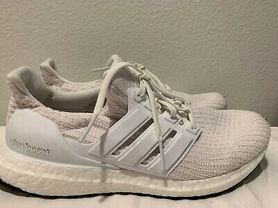 0f8b954b27067 Adidas Women Running Ultra Boost 4.0 W Triple White New Training Gym BB6308  9.5