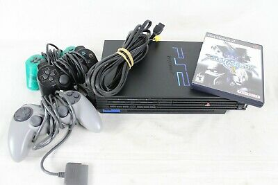 Sony Playstation 2 Video Game Fat Console Bundle Soul Calibur 2 II Controllers