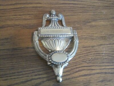 Vintage Brass Door Knocker !     England