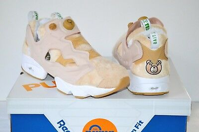 a50258d6 Reebok InstaPump Pump Fury Legalize Happy Ted 2 x Bait sz 11.5 Tan Front w/