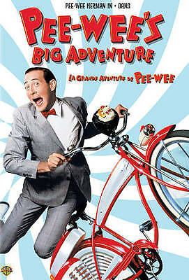 Pee-Wees Big Adventure (DVD, 2008, Canadian) NEW! Free Ship Canada!