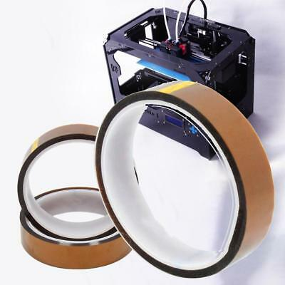 20mm 100ft Kapton Tape High Temperature Heat Resistant Polyimide for 3D