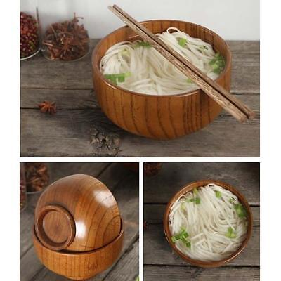 Natural Jujube wooden bowl,Japanese style,Creative hand,bailer,Rice chinese O7W8