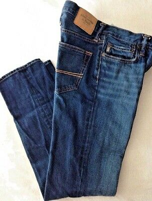 Abercrombie &Fitch New York Boys Jeans W30 Length 32