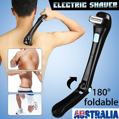 Electric Back Hair Shaver Remover Shaving Pro Cutter Trimmer Clippers Groomer