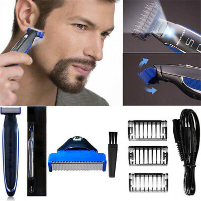Genuine Men Safe Razor Electric Shaver Rechargeable Cordless Whisker Beard Trims