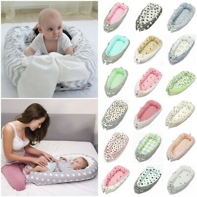 Baby Pod Nest Newborn Reversible Cocoon Bed Sleep Newborn Cushion Sleepyhead