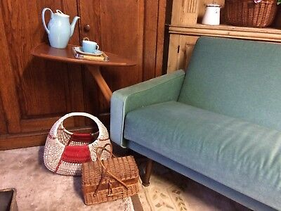 1950's Vintage Retro Teak Bed Table / Sofa Table