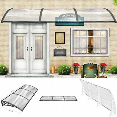Door Canopy Awning Shelter Front Back Porch Outdoor Shade Patio Rain Sun Cover